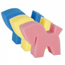 Spons Flecki Horse 3 kleuren