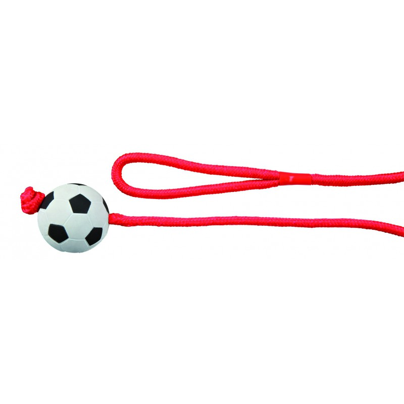 Rubber Toys - Voetbal aan touw
