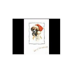 Boxer Kerst Simply kaart