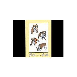 Engelse Bulldog Family kaart