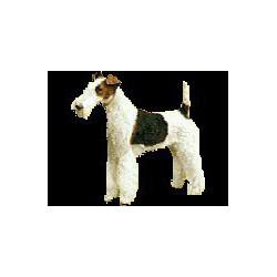 Fox Terrier ruwhaar Sticker...