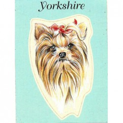 Yorkshire Terrier Sticker...