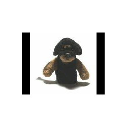 Rottweiler Finger Puppets...