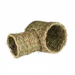 Gras en bamboe - Grastunnel met Vertakking