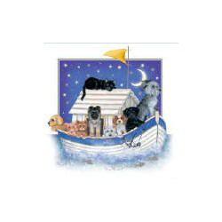 The Ark blanco kaart