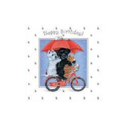 Raindrops birthday kaart