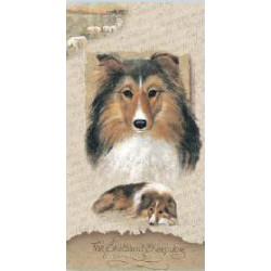 Shetland Sheepdog Slimcard