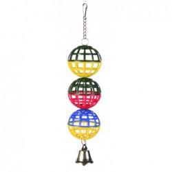 Vogelspeelgoed - Trio Gaasballen
