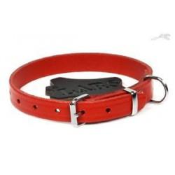 Lars Croupon halsband rood