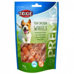 Snacks gedroogd - PREMIO Fish Chicken Wheels