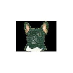 Franse Bulldog Stickers 7cm