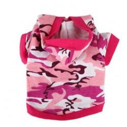 Camouflage sweater roze OP...