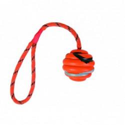 Rubber Toys - Wavy bal aan touw
