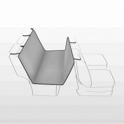 Autokleed achterbank grijs