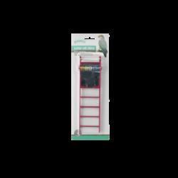 Bird ladder with mirror