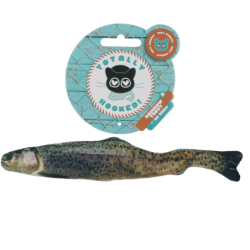 Totally Hooked Rainbow trout