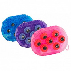 Borstel magneet massage roze