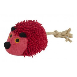 Fuzzle Hedgie with tail rood