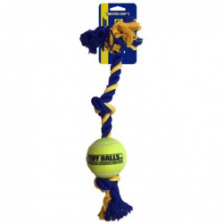 3-Knot rope with tuff ball...