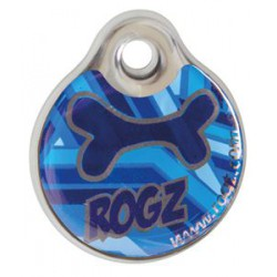 Rogz ID Tag navy zen