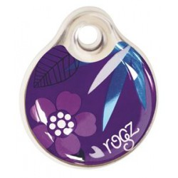 Rogz ID Tag purple forest