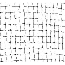 Veiligheidsnet 4m zwart
