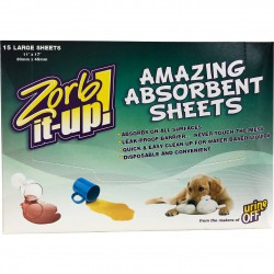 Urine Off Zorb it up sheets...