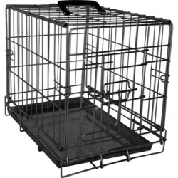 Draadkooi Ebo 43x61x50cm zwart