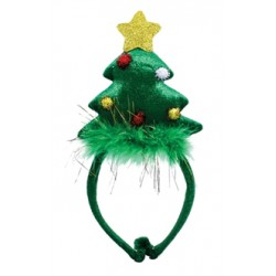 Diadeem kerstboom 24cm