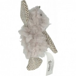 Wooly Luxury Vogel grijs 12cm